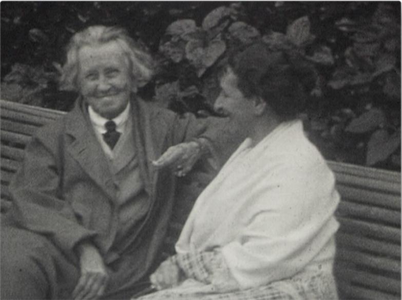 L'écrivain Vernon Lee et le peintre Berthe Noufflard, in
