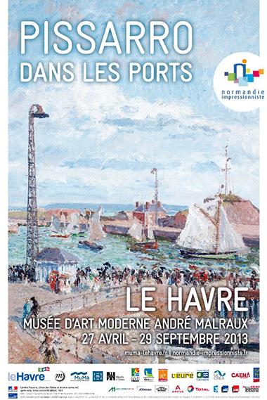 Pissarro dans les ports