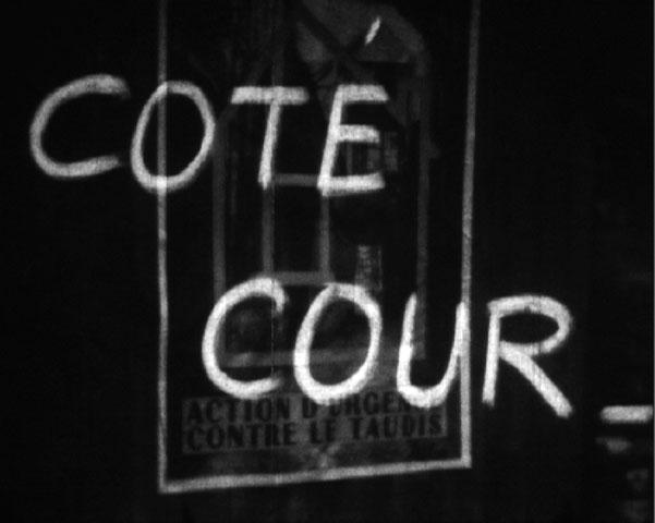 « Côté cour » de Claude Moignard, 1954,16mm, NB, sonore