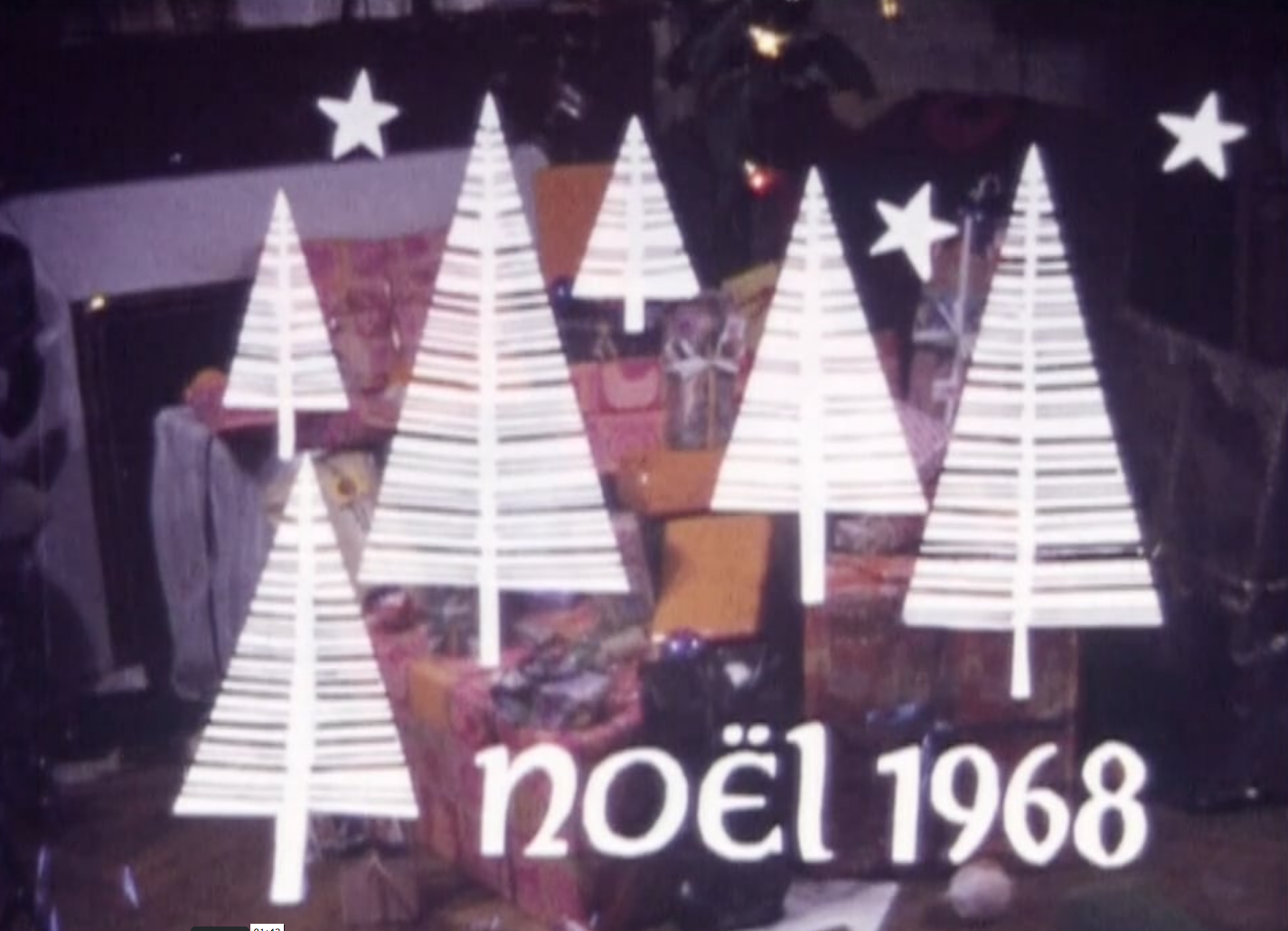 Je me souviens... Noël 1968