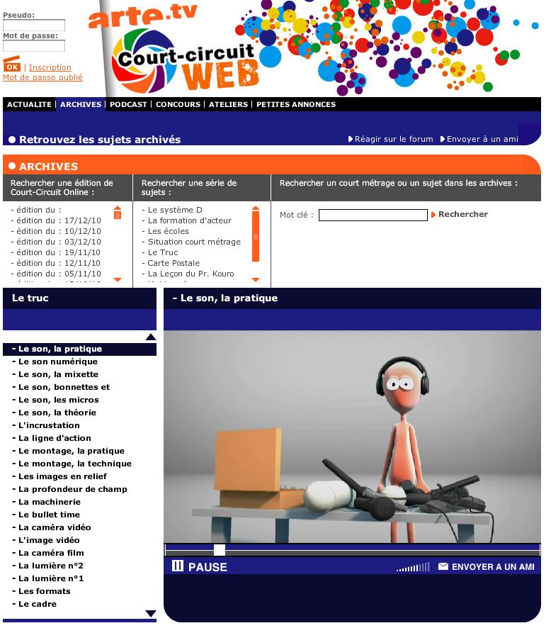 Sites internet d'éducation aux images