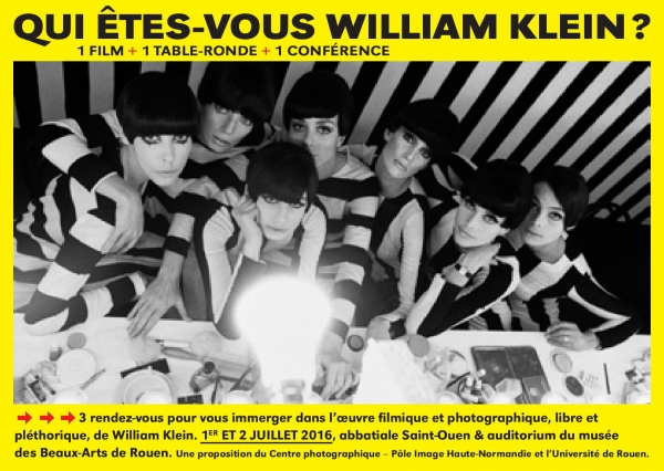 Qui êtes-vous William Klein ?