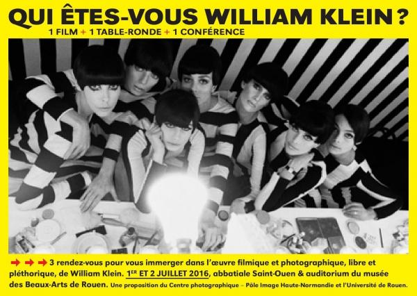 Qui êtes-vous William Klein ?