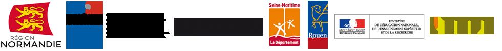 logo partenaires du Pôle Image Haute-Normandie