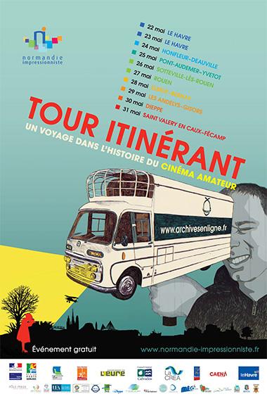 Affiche du Tour itinérant