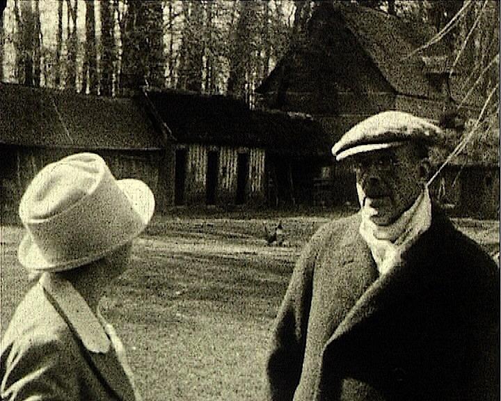 Jacques-Emile Blanche et Berthe Noufflard à Fresnay-le-Long, de André Noufflard, 1927, 9,5mm ©Pôle Image Haute-Normandie