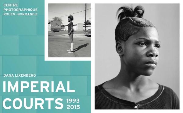 Photographies : Dana Lixenberg, Nu Nu, 2009 ; Solé, 2013, Imperial Courts 1993-2015. Courtesy de l'artiste et GRIMM, Amsterdam I New York