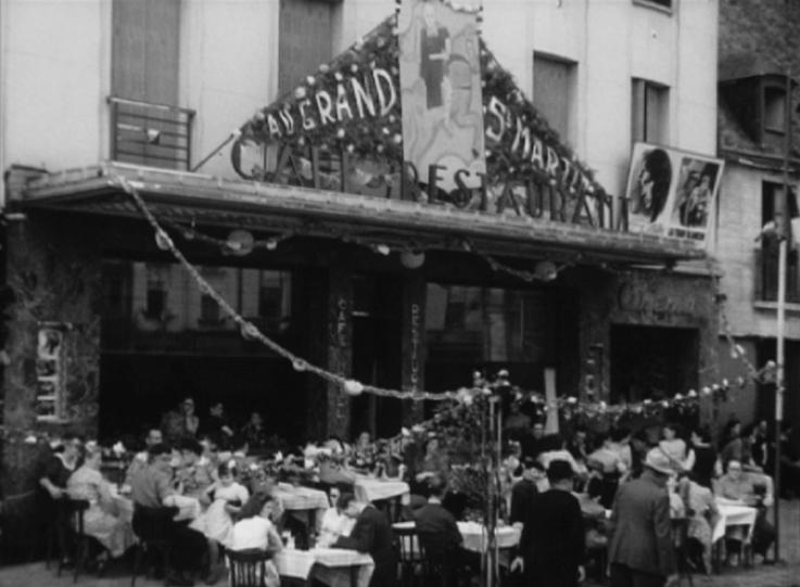 Photogramme issu du film « Les Fêtes du Neubourg » - réal. Inconnu – 1952 ©POLE IMAGE HAUTE-NORMANDIE