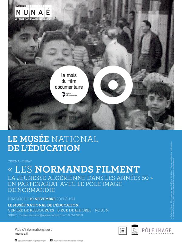 Les Normands filment la jeunesse algérienne dans les années 1950