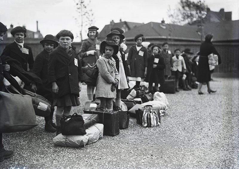 Le départ © Archives départementales de Seine-Maritime