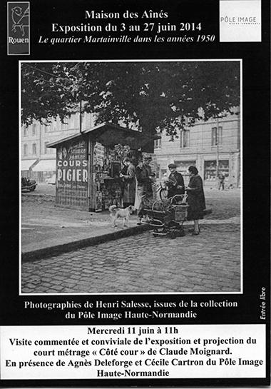 Le quartier Martainville dans les années 1950